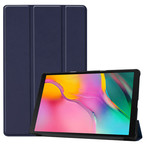 Trifold Smart Case Stand for Samsung Galaxy Tab A 10.1 (2019) - Blue